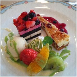 マリーナ河芸 クリスマスランチ Sweets.JPG