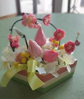 マリーナ河芸 海の見える大人のカルチャースクール 粘土で作るお花.JPG