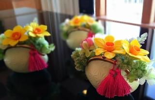 粘土で作るお花の雑貨 ガマ口 マリーナ河芸�@.JPG
