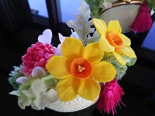 粘土で作るお花の雑貨 ガマ口 マリーナ河芸�A.JPG