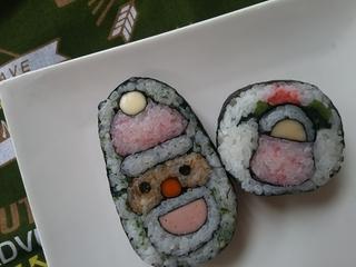 飾り巻き寿司 サンタクロース マリーナ河芸.JPG