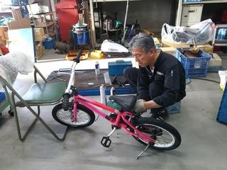 自転車乗り方教室 マリーナ河芸�@.JPG